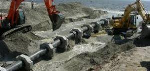 bombear agua hasta la mina